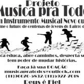 Projeto MUSICA PRA TODOS