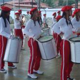 Participando do festival de bandas de Guaiuba