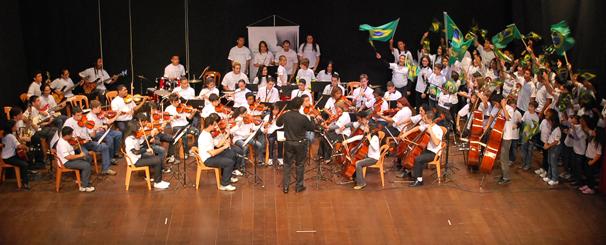 Projeto sociocultural com oferta gratuita de 120 vagas em curso de música instru